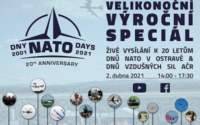 Special Easter livestream: 20th anniversary of NATO Days in Ostrava
